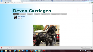 devon carriages before