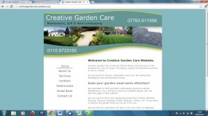 Creative Garden Care Before