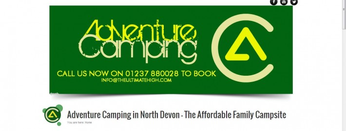 adventure camping SEO and website services by Complete Marketing Solutions, North Devon