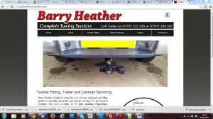 barry heather complete towing after