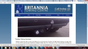 britannia towing centre after