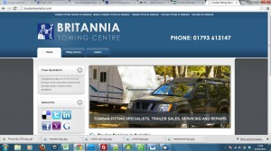 britannia towing centre before