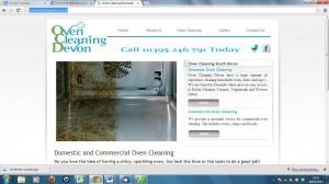 oven cleaning devon