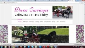 devon carriages website