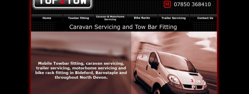 Top 2 Tow new website - web and marketing by complete makrketing solutions in North Devon, Bideford