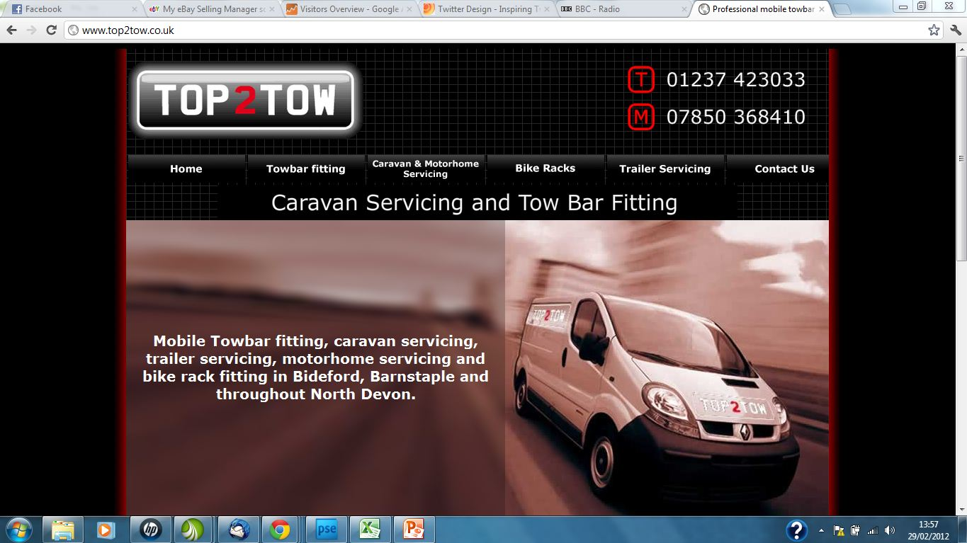 Top 2 Tow new site - SEO and website redesign services by Complete Marketing Solutions, North Devon