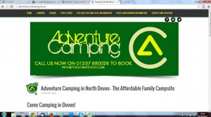 adventure camping after
