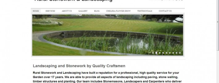 rural stonework SEO and website redesign services by Complete Marketing Solutions, North Devon