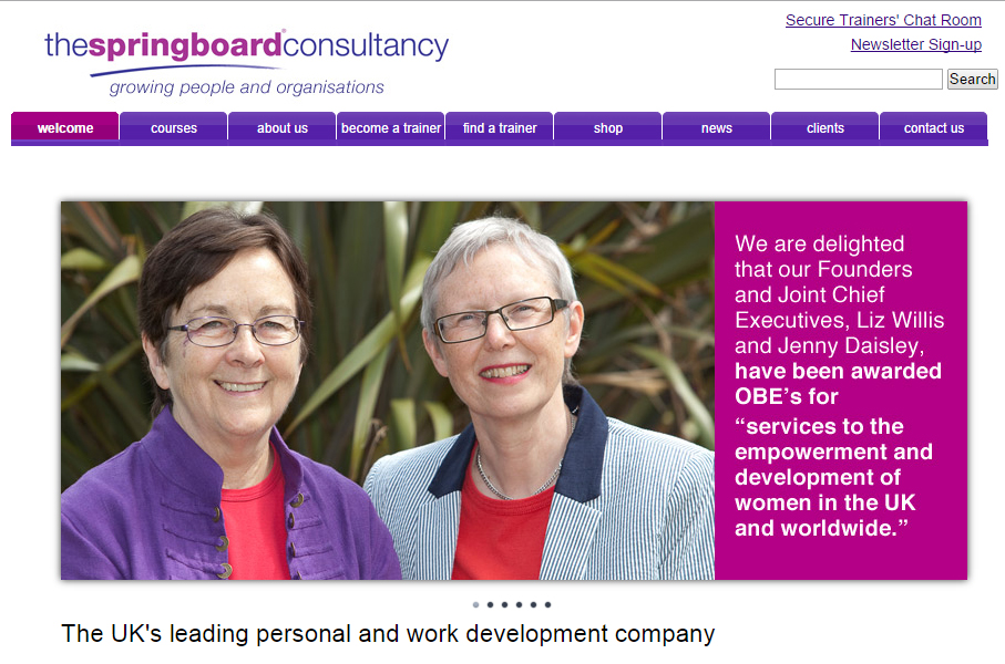 The Springboard Consultancy - Website design and optimisation by North Devon based marketing specialists