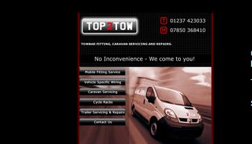 Top 2 Tow before screen grab - Redesigned and optimised by complete marketing solutions in bideford north devon