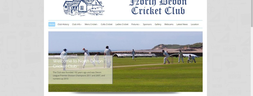 NDCC New Website | We Design | Bideford | Barnstaple