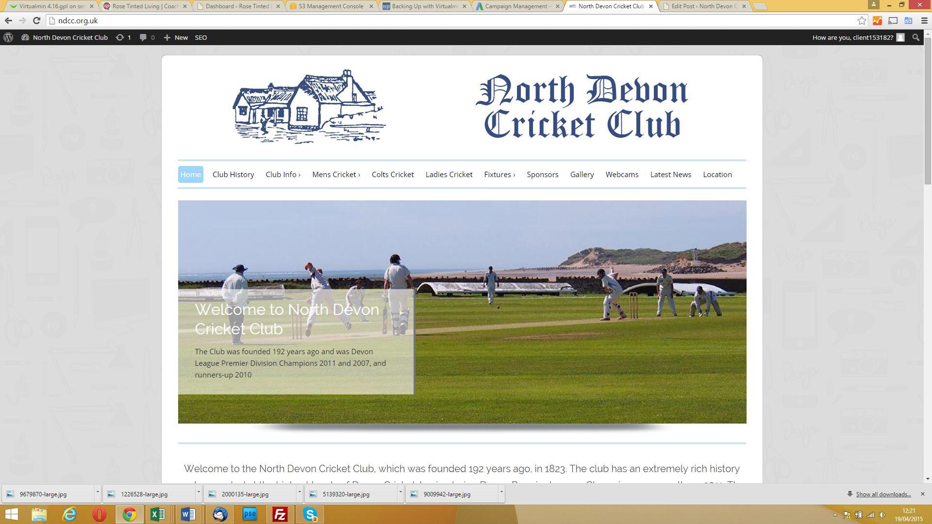NDCC New Website | We Design | Bideford | Barnstaple