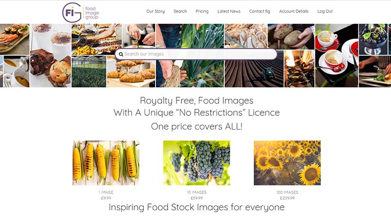 Stock Food Image Website Devon